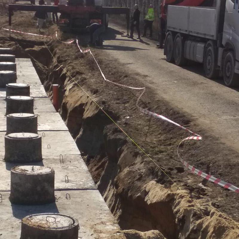 Szamba betonowe wielokomorowe montaż
